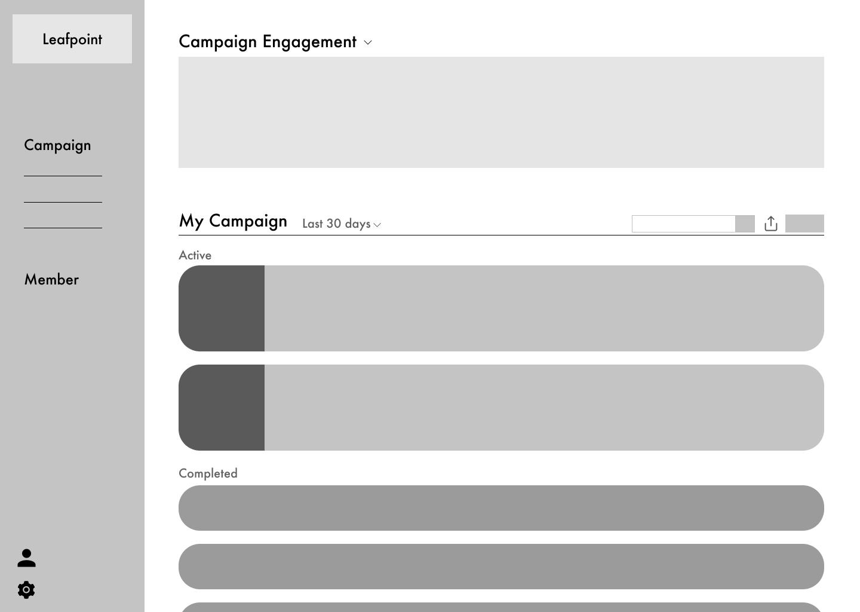 Low-Fi-CampaignDashboard